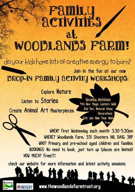 Woodlands Farm Winter Activities