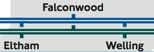 Falconwood on the TfL Map
