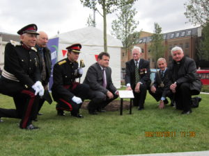 Dedication of Dove Tree to those who served in the Burma Campaign 1941-45