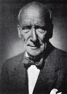 Algernon Blackwood, spiritualist, short story writer and novelist, one of the most prolific writers of ghost stories in the history of the genre