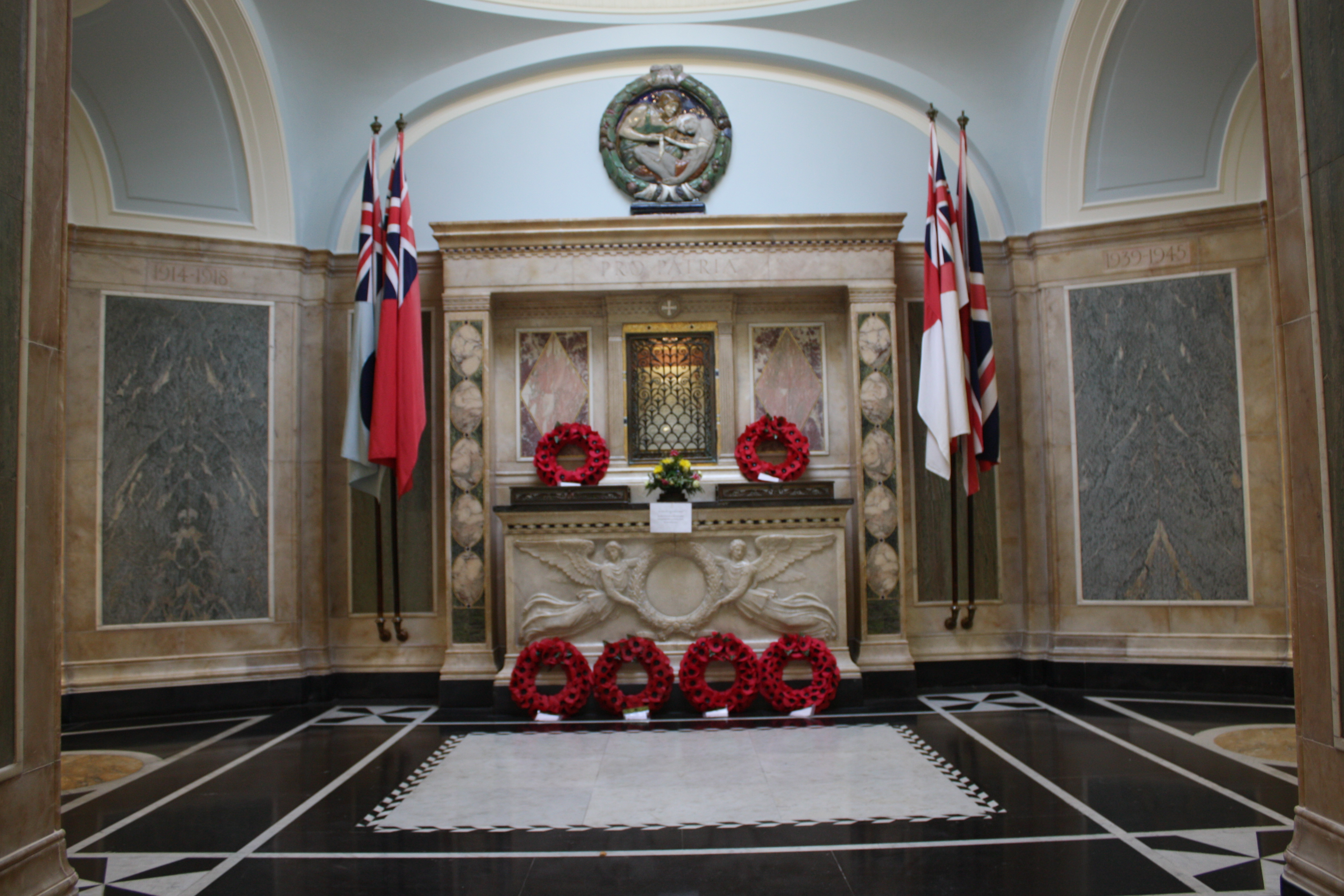 Hall of Remembrance at Memorial Hospital, Shooters Hill