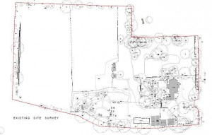 Plan of the area where the Centre will be as it is now taken from the planning documents