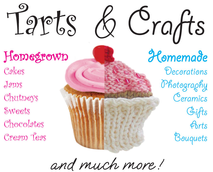 Shrewsbury House Tarts and Crafts poster