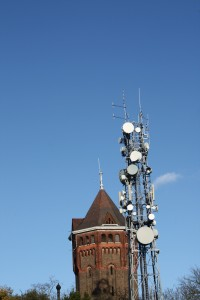 Water Tower and Oxleas Wood Mast