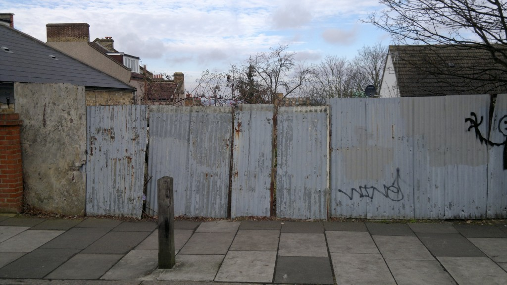 Possible site of two houses in Nithdale Road