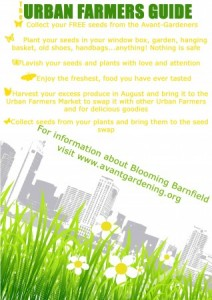 Blooming Barnfield Urban Farmers Guide