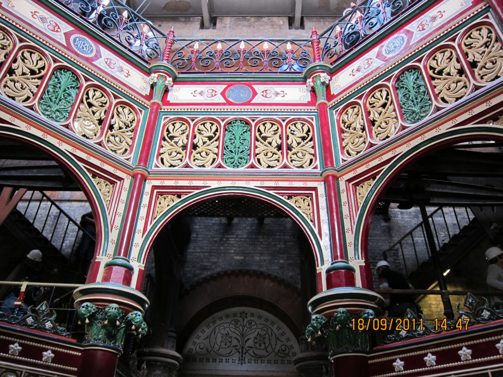 Decorative Ironwork in the Octagon at the Crossness Pumping Station
