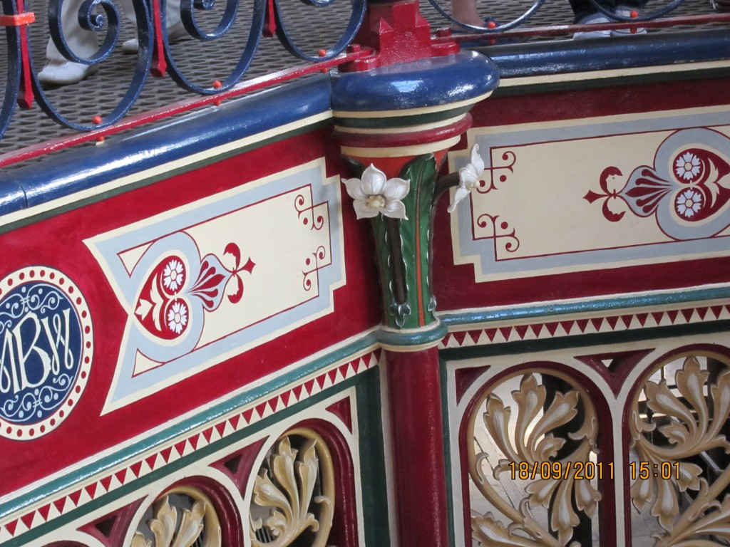 Detail of ironwork at Crossness Pumping Station