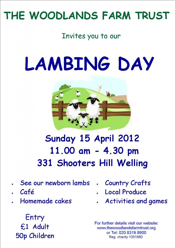 Lambing Day 2012 Poster