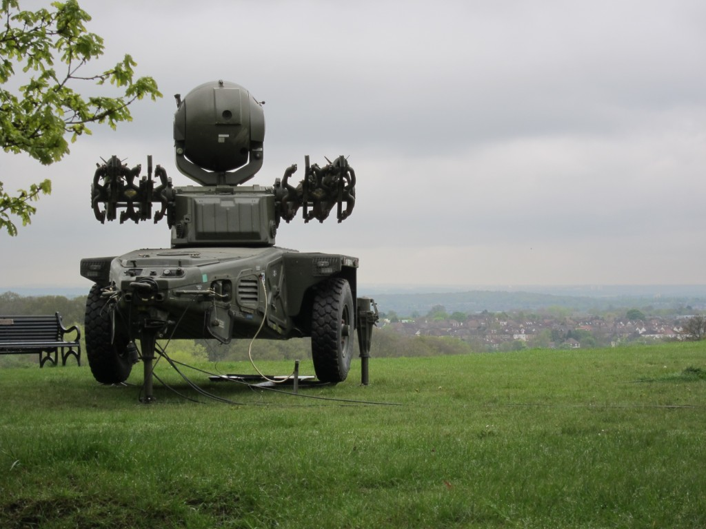 Rapier Missile Battery on Oxleas Meadows