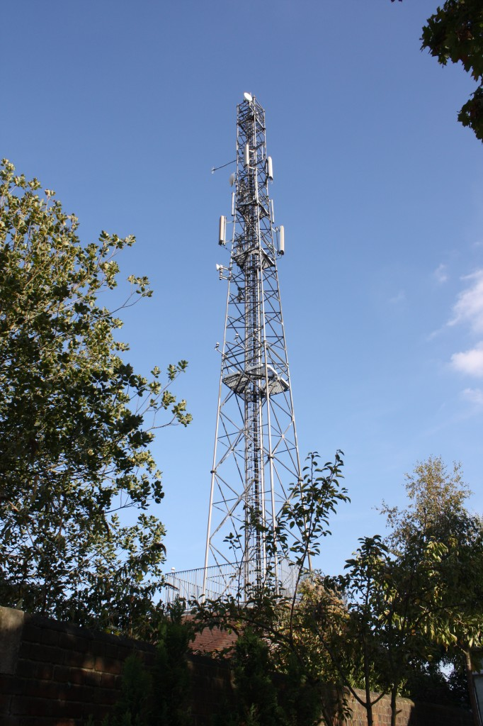 Shooters Hill Fire Station Mast