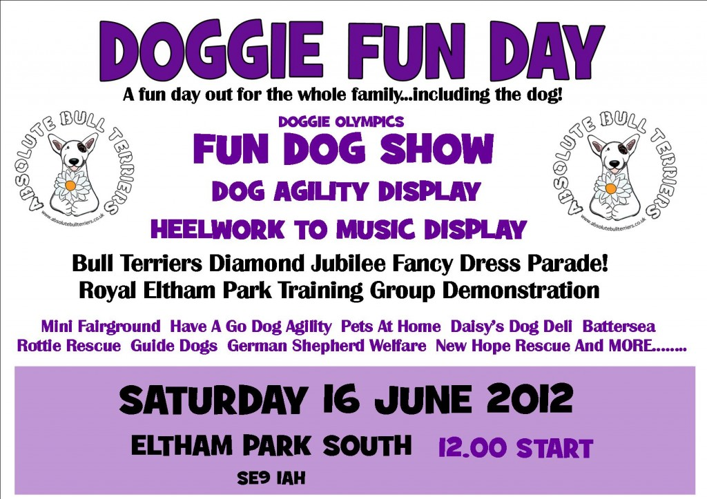 Doggie Fun Day Poster