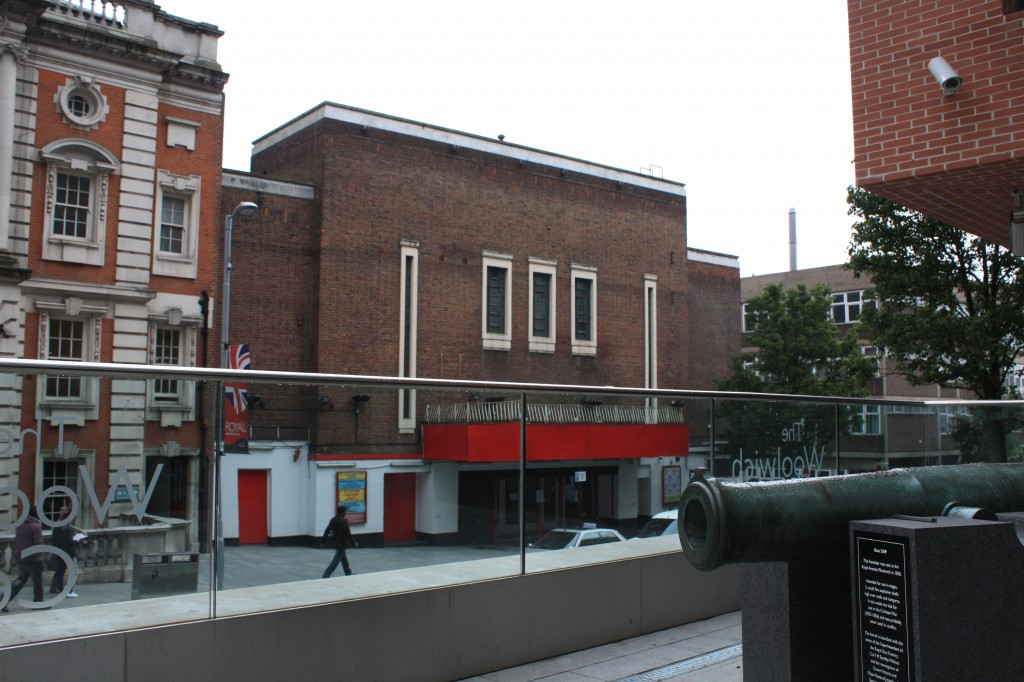 Woolwich Grand Theatre from the Woolwich Centre