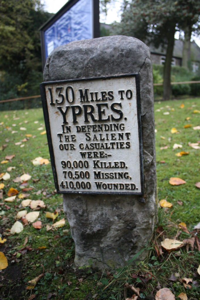 The Ypres Milestone at Christ Church