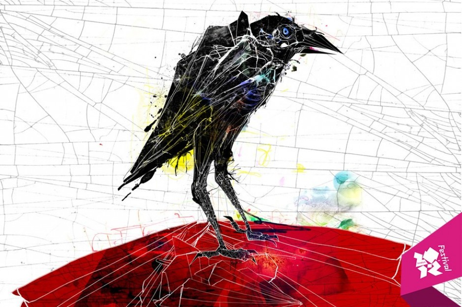 London 2012 Festival Crow image