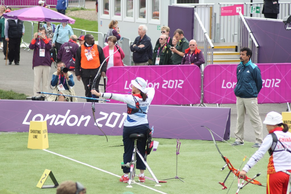 Britain's Sharon Vennard in Women's Individual Recurve – Standing