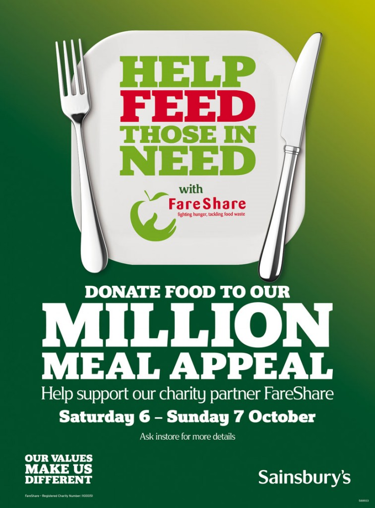 Million Meal Appeal Leaflet