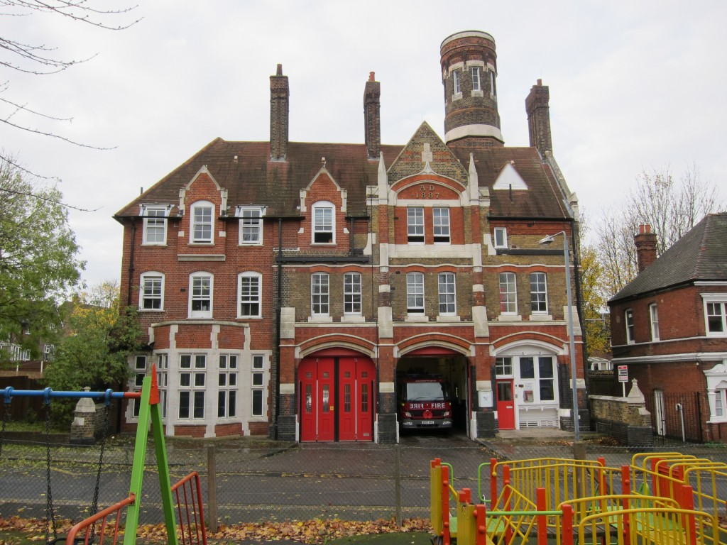 Woolwich Fire Station - London's oldest operational fire station