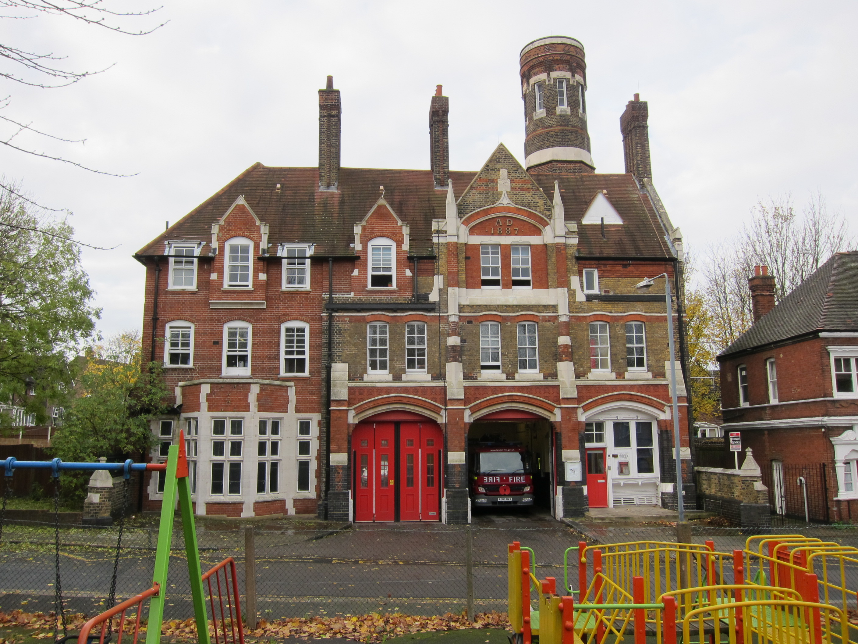 London's Oldest Operational Fire Station – a spark in your veins