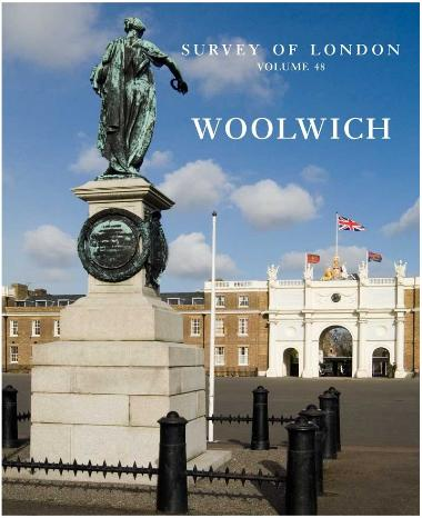 Front cover of Survey of London volume 48 Woolwich on amazon.co.uk