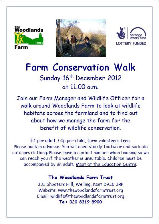 Farm Conservation Walk Poster