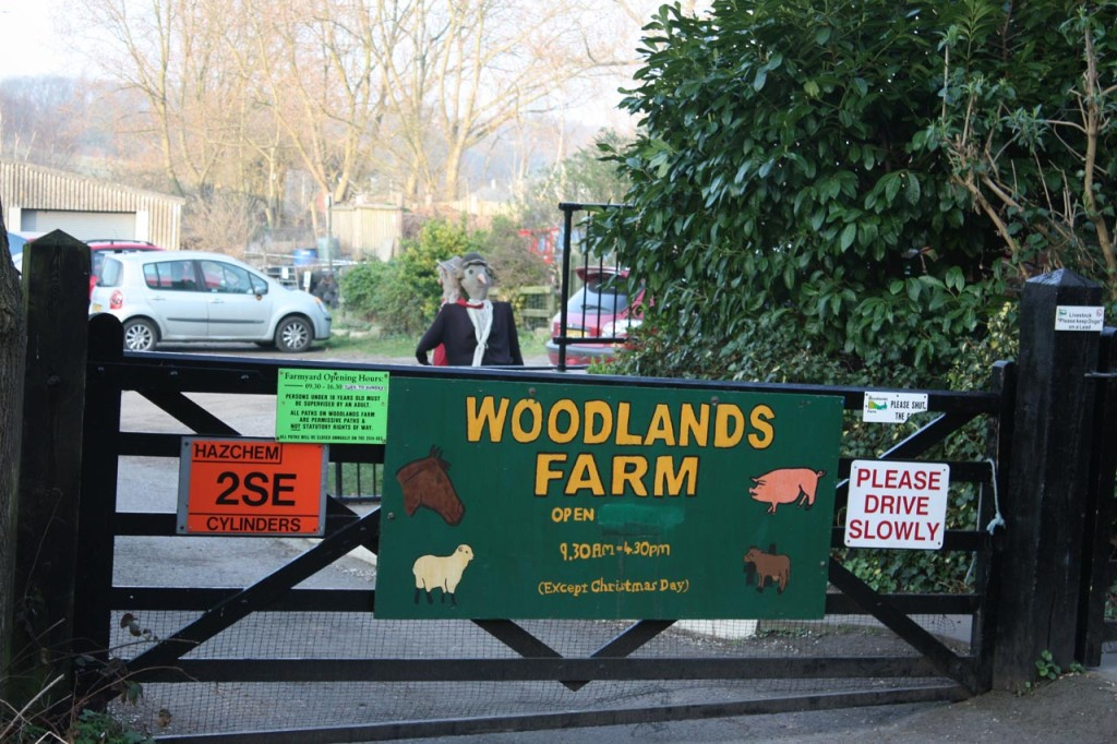Woodlands Farm Front Gate