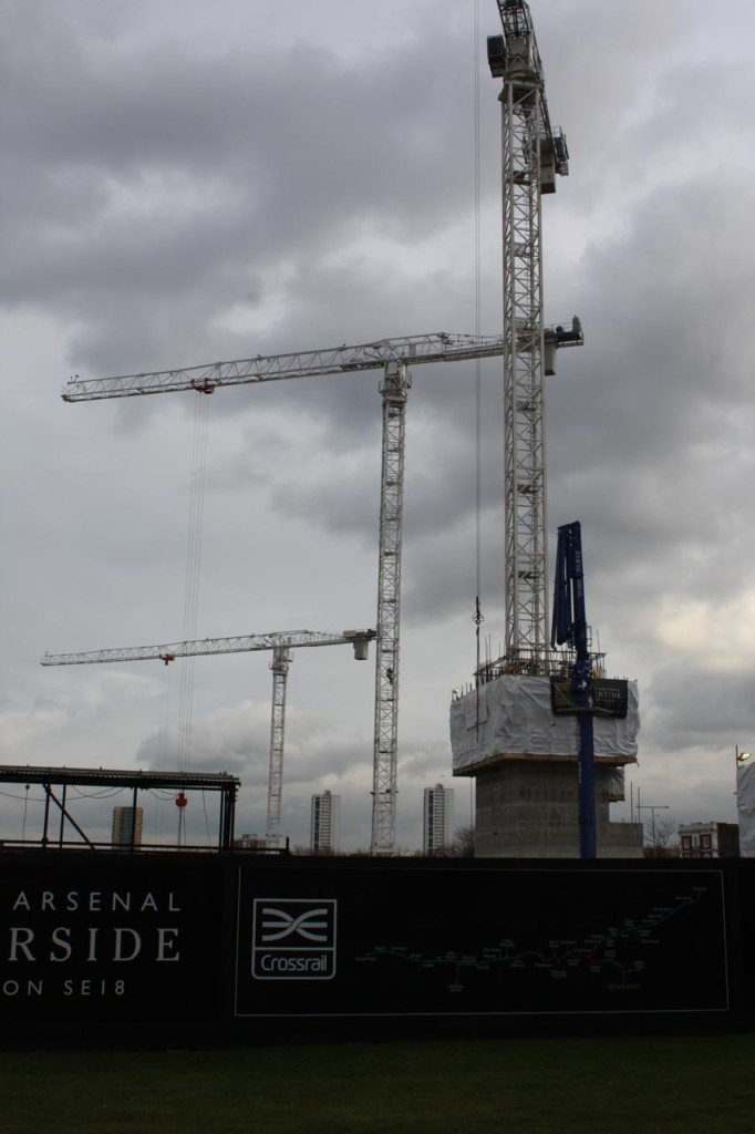 Crossrail station box site