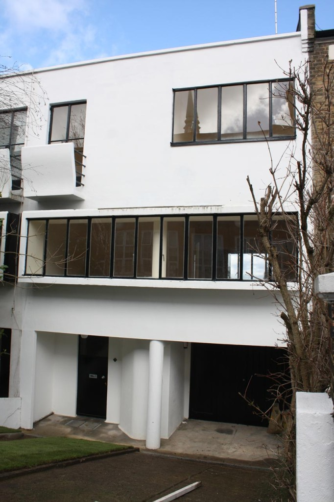 91 Genesta Road - part of the United Kingdom's only modernist terrace