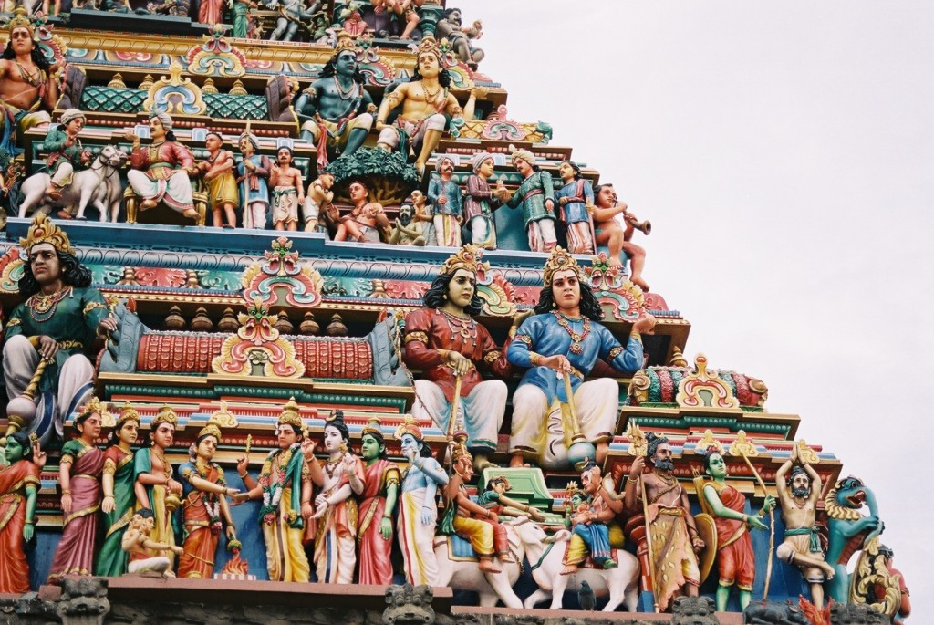 Detail of the Kapalishvara Temple, Chennai