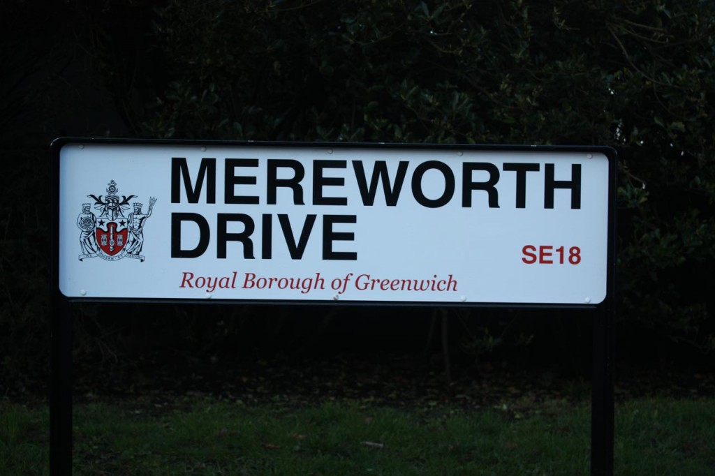 Royal Borough of Greenwich Street Sign