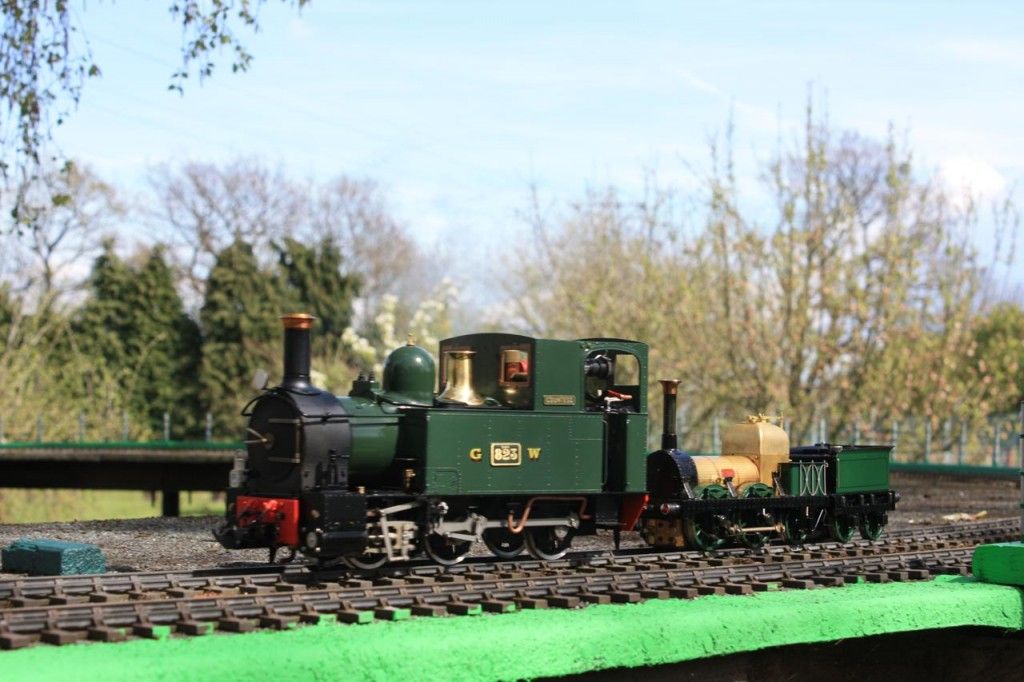 Model Train at Welling and District Model Engineering Society