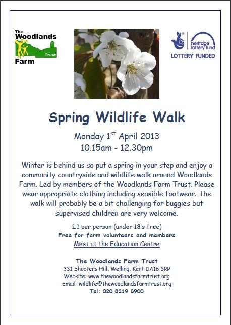 Wildlife Walk Poster