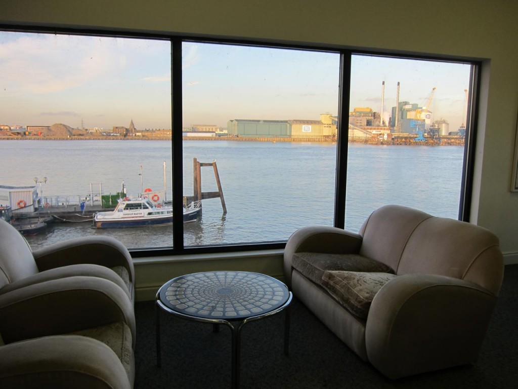 Room with a Thames view at SFSA