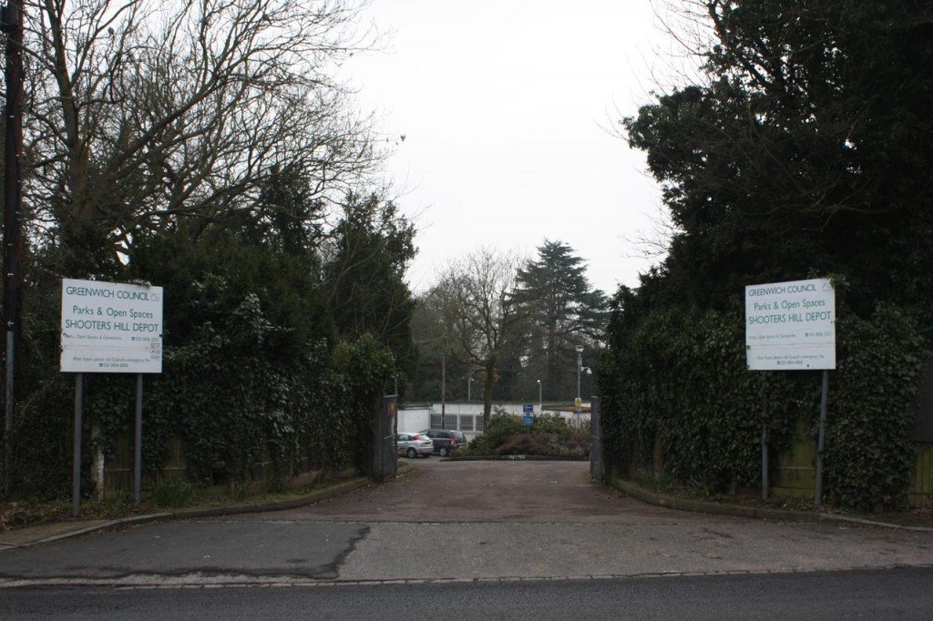 Entrance to the proposed Horticultural Skills Centre