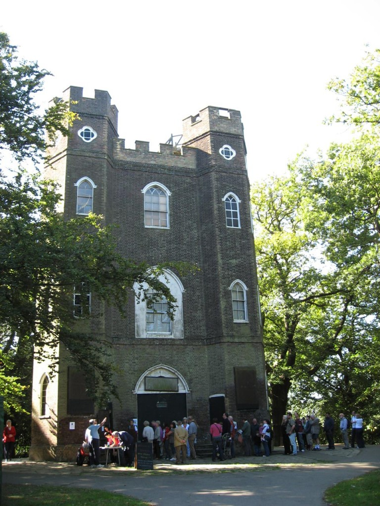 Severndroog Castle on Open House day