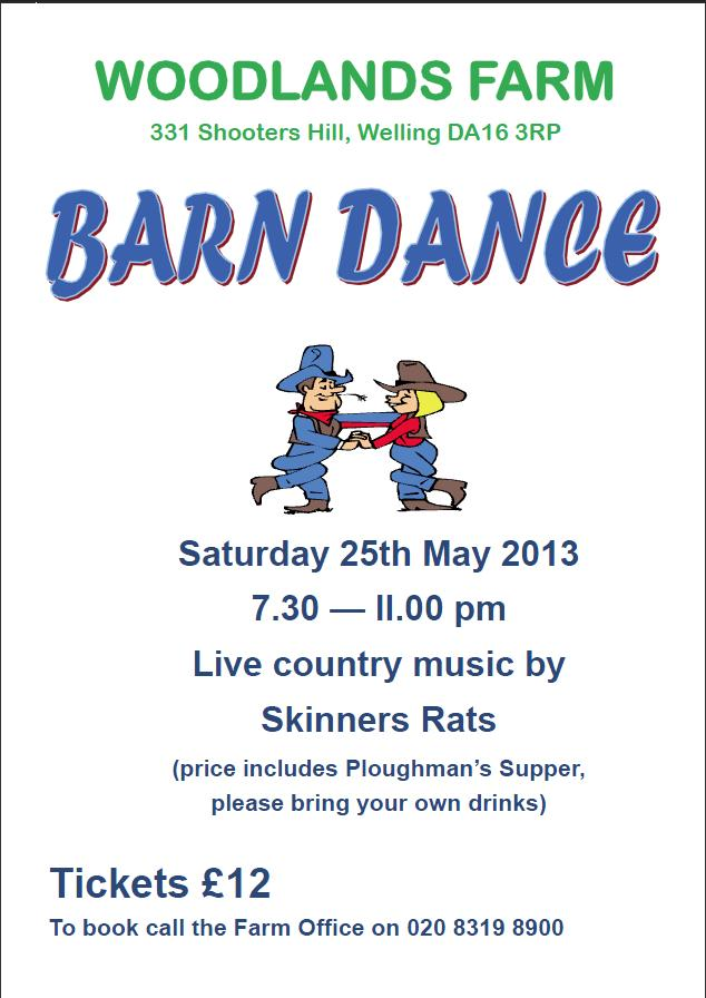 Barn Dance Poster