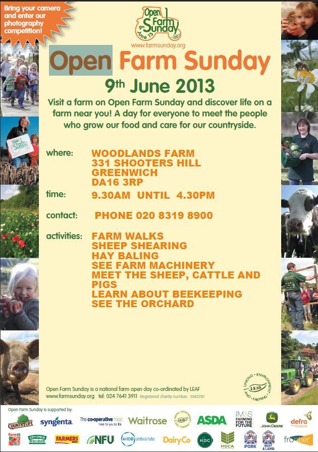 Open Farm Poster