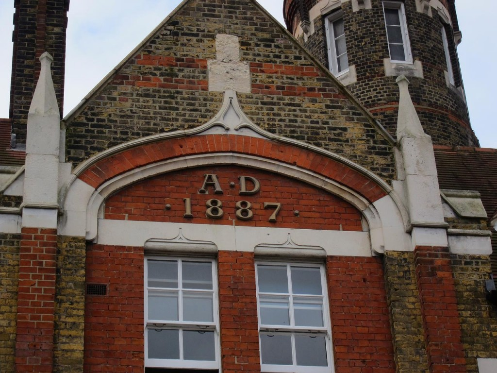 Detail of Woolwich Fire Station - built 1887