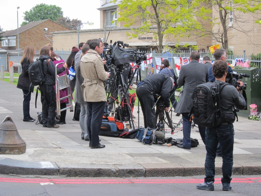 Press at  Lee Rigby Flowers