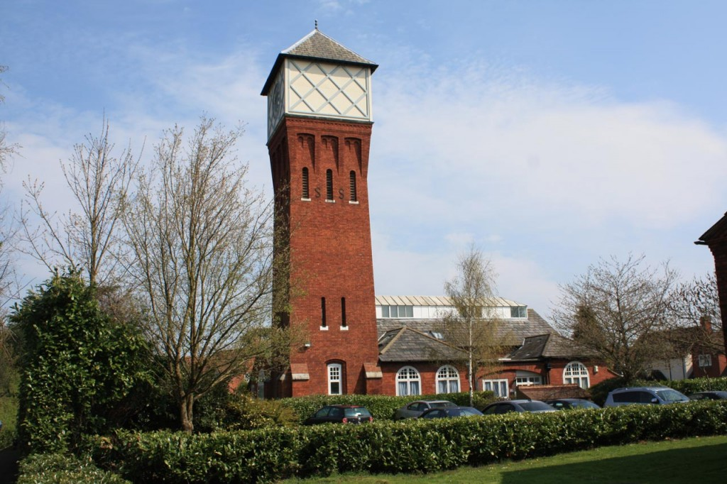 The water tower and swimming baths