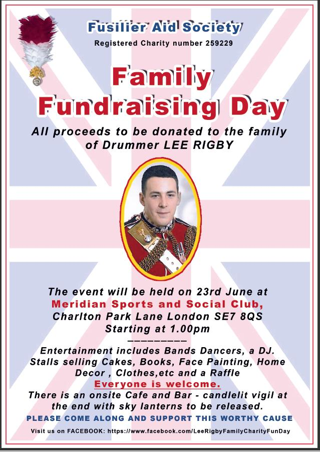 Lee Rigby Event Poster