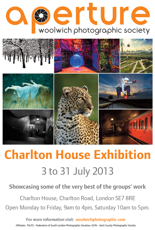 Aperture Exhibition at Charlton House Poster
