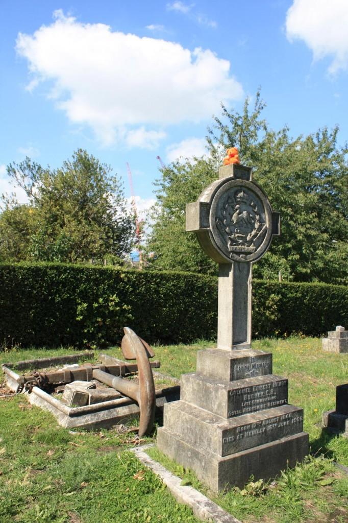 Gravestone in East Greenwich Pleasaunce