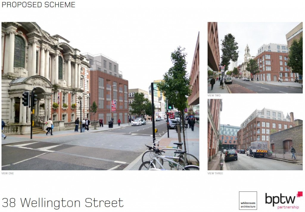 bptw partnership and whiteroom architecture Proposed Scheme for 38 Wellington Street