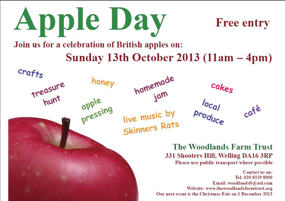 Woodlands Farm Apple Day 13th October 2013