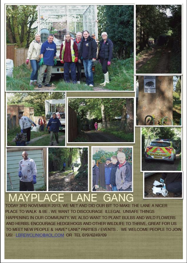 Mayplace Lane