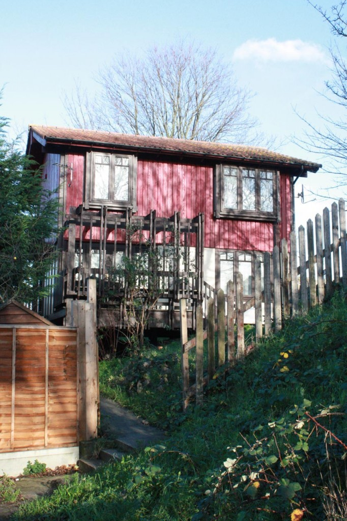Segal house in Parish Wharf