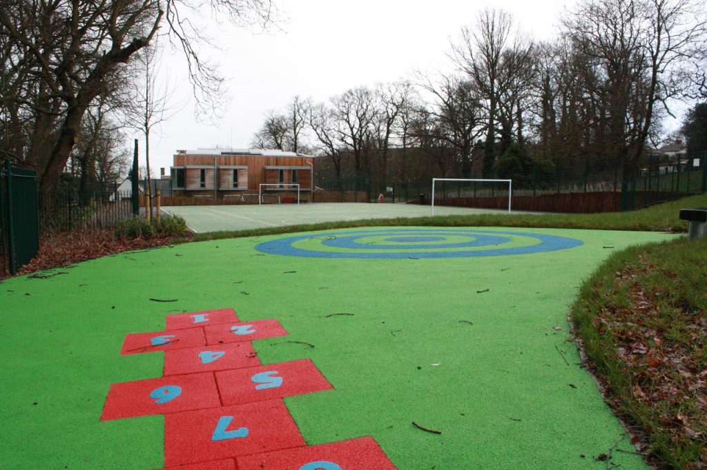 MUGA Court behind Christ Church School