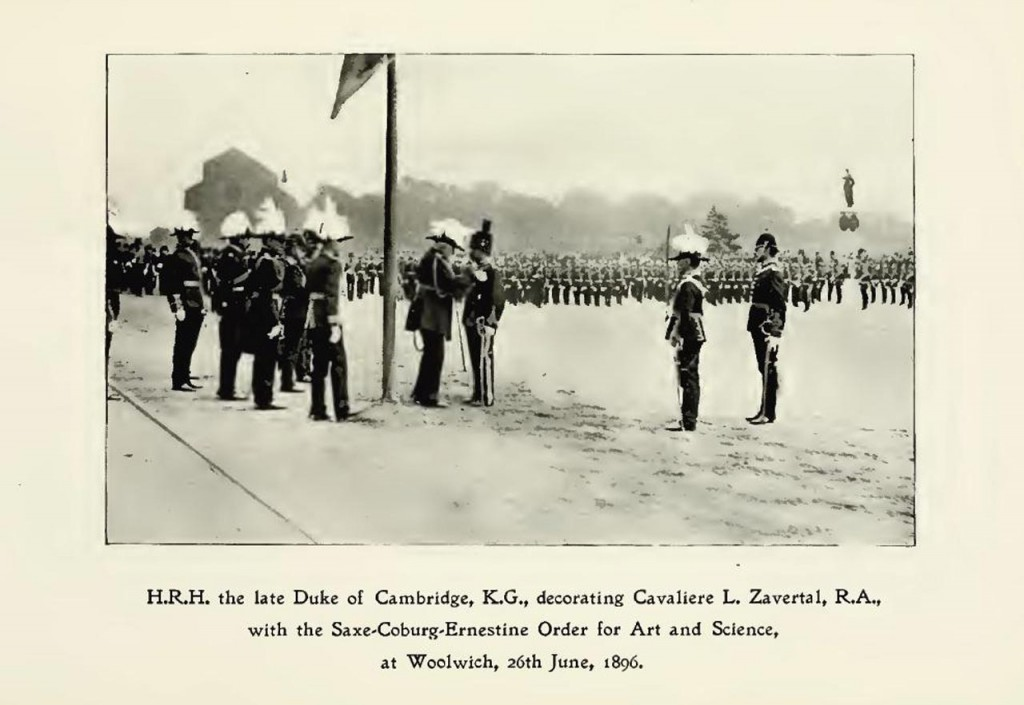 Picture from Memoirs of the Royal Artillery Band by Henry George Farmer