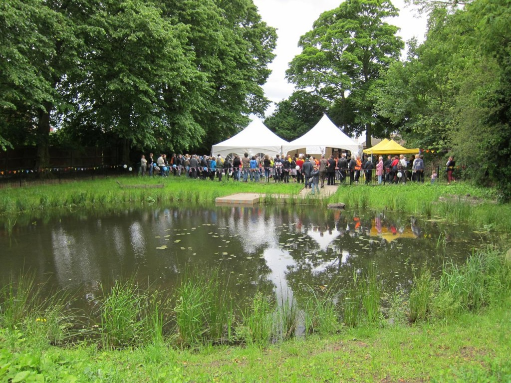Grand Opening of the Lilly Pond 15 June 2012